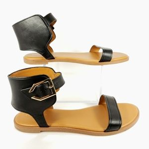 Cole Haan Shoes - COLE HAAN Women's Anica Cuff Black Sandals size 9
